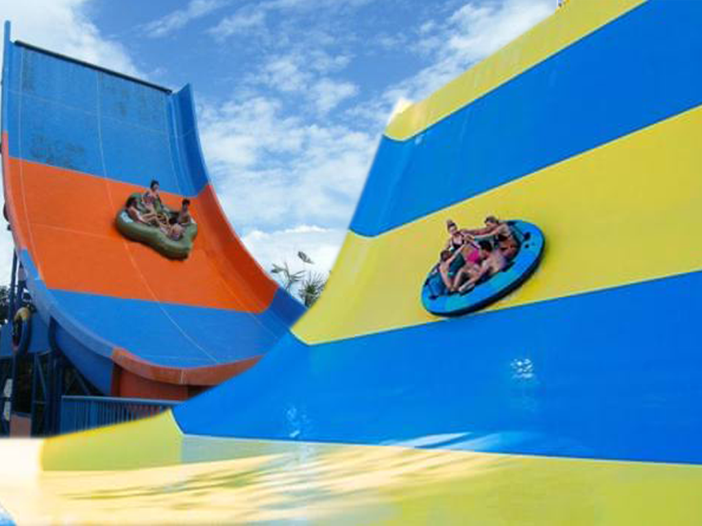 Boomerang The summer waves water park